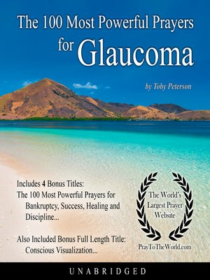 cover image of The 100 Most Powerful Prayers for Glaucoma