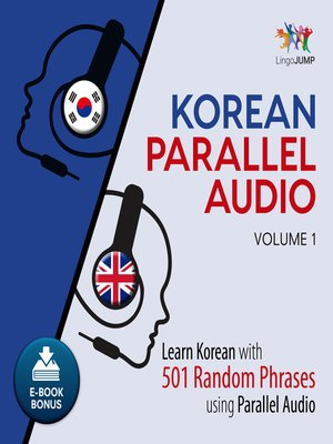 cover image of Learn Korean with 501 Random Phrases using Parallel Audio - Volume 1