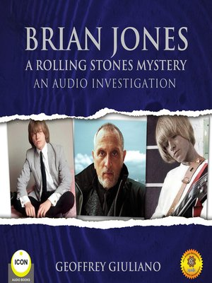 cover image of Brian Jones: A Rolling Stones Mystery