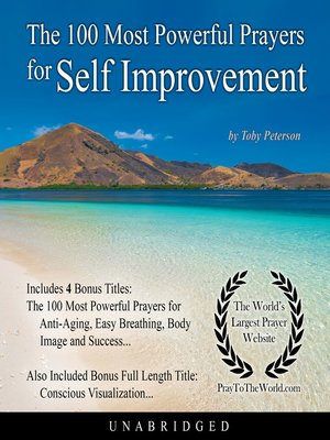 cover image of The 100 Most Powerful Prayers for Self Improvement