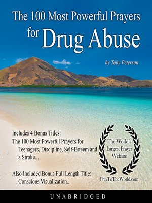 cover image of The 100 Most Powerful Prayers for Drug Abuse