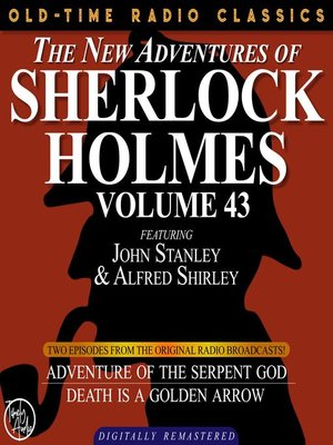 cover image of The New Adventures of Sherlock Holmes, Volume 43, Episode 1