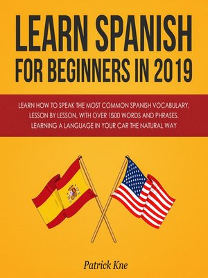 cover image of Learn Spanish for Beginners in 2019
