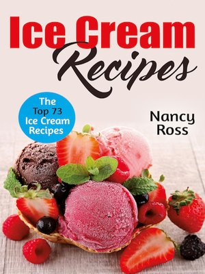 cover image of Ice Cream Recipes