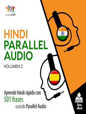 cover image of Aprende hindi rápido con 501 frases usando Parallel Audio, Volumen 2