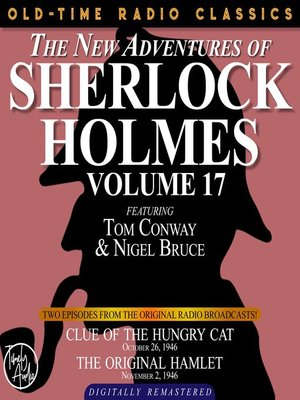 cover image of The New Adventures of Sherlock Holmes, Volume 17, Episode 1