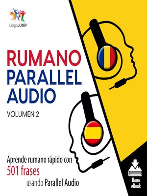 cover image of Aprende rumano rápido con 501 frases usando Parallel Audio, Volumen 2