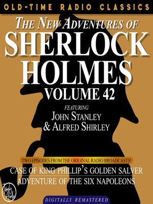 cover image of The New Adventures of Sherlock Holmes, Volume 42, Episode 1