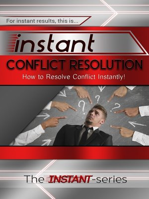 cover image of Instant Conflict Resolution