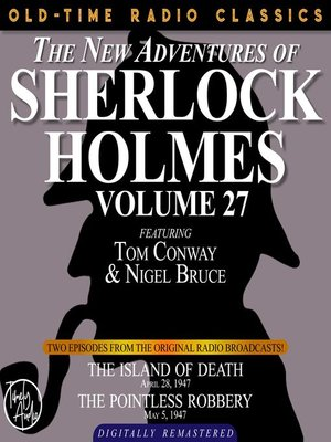 cover image of The New Adventures of Sherlock Holmes, Volume 27, Episode 1