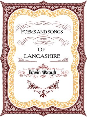 cover image of Poems and Songs of Lancashire