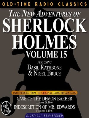 cover image of The New Adventures of Sherlock Holmes, Volume 15, Episode 1