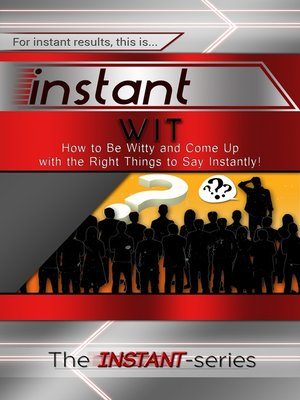 cover image of Instant Wit