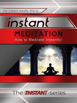 cover image of Instant Meditation