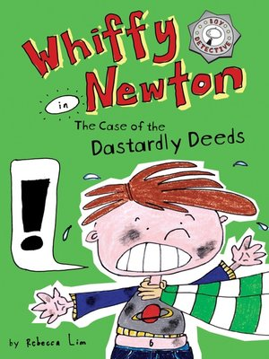 cover image of Whiffy Newton in the Case of the Dastardly Deeds