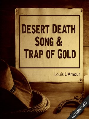 cover image of Desert Death Song & Trap of Gold