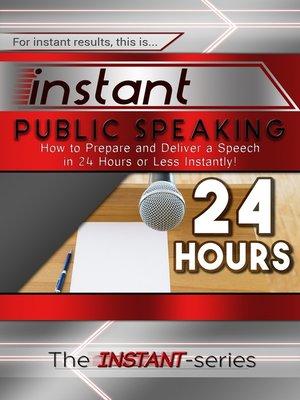 cover image of Instant Public Speaking