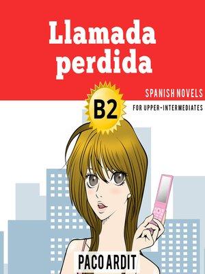 cover image of Llamada perdida