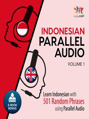cover image of Learn Indonesian with 501 Random Phrases using Parallel Audio - Volume 1