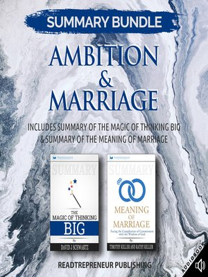 cover image of Summary Bundle: Ambition & Marriage