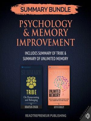 cover image of Summary Bundle: Psychology & Memory Improvement