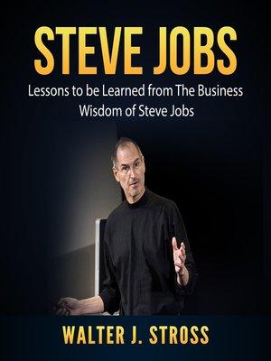 cover image of Steve Jobs