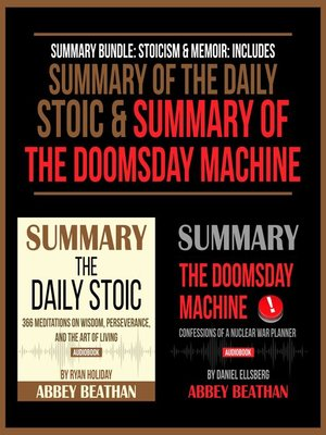 cover image of Summary Bundle: Stoicism & Memoir