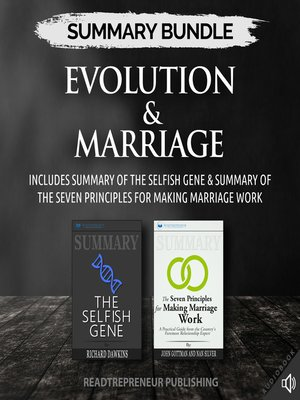 cover image of Summary Bundle: Evolution & Marriage