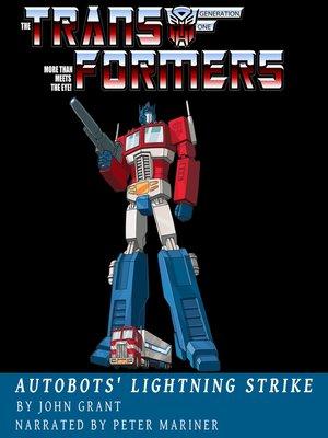 cover image of Autobots' Lightning Strike