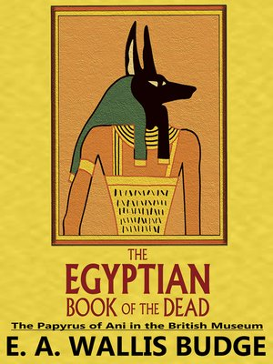 cover image of The Egyptian Book of the Dead