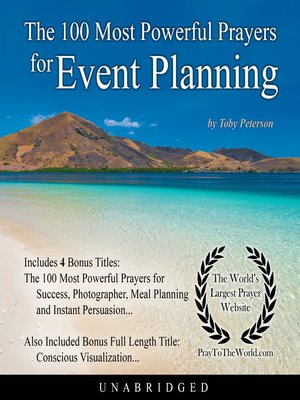cover image of The 100 Most Powerful Prayers for Event Planning