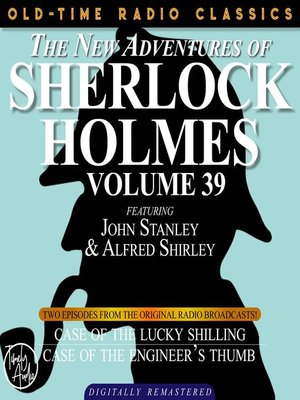 cover image of The New Adventures of Sherlock Holmes, Volume 39, Episode 1