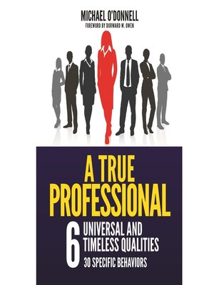 cover image of A True Professional