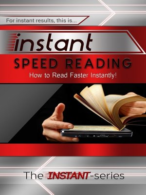 cover image of Instant Speed Reading