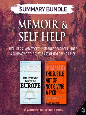 cover image of Summary Bundle: Memoir & Self-Help