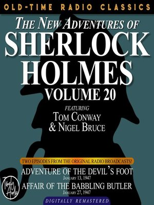 cover image of The New Adventures of Sherlock Holmes, Volume 20, Episode 1