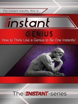 cover image of Instant Genius