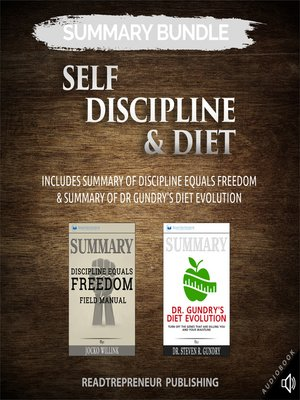 cover image of Summary Bundle: Self Discipline & Diet