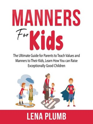 cover image of Manners for Kids