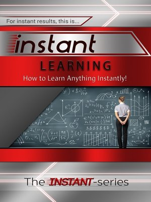 cover image of Instant Learning