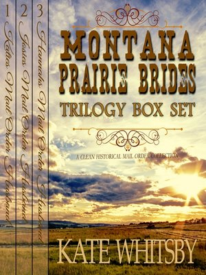 cover image of Montana Prairie Brides Trilogy