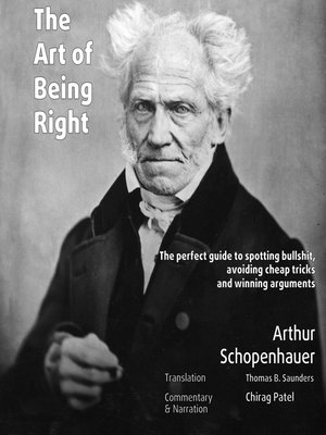 cover image of The Art of Being Right