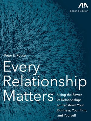cover image of Every Relationship Matters