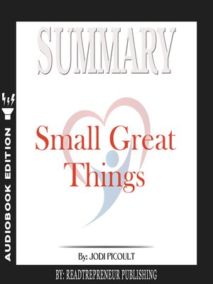 cover image of Summary of Small Great Things: A Novel by Jodi Picoult