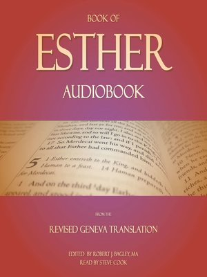 Book of Esther Audiobook : From the Revised Geneva Translation - Audiobook