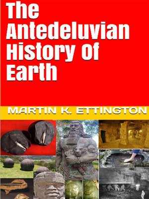 cover image of The Antediluvian History of Earth