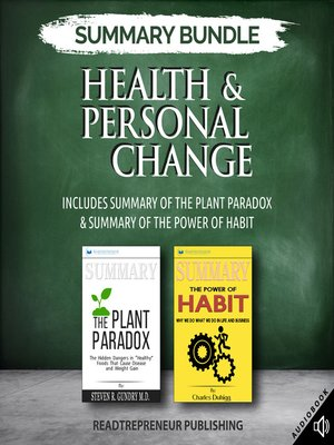 cover image of Summary Bundle: Health & Personal Change