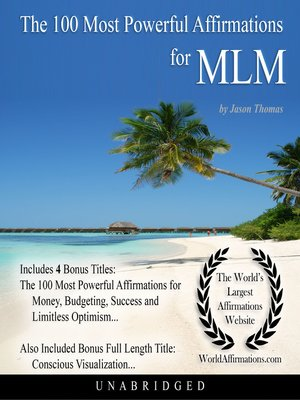 cover image of The 100 Most Powerful Affirmations for Multi-Level Marketing