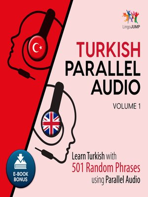 cover image of Learn Turkish with 501 Random Phrases using Parallel Audio - Volume 1