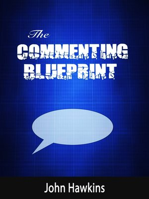 cover image of The Commenting Blueprint